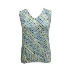 مشط قطن وقميص [فيسكس] مناسبة لأنّ نساء ليّنة طباعة صدرة سيدات أعلى