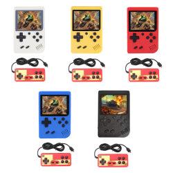 Construit en 400 mini-ordinateur de poche portable Gamesretro Gameboy console de jeu 1020mAh BATTERIE ECRAN LCD couleur 3,0 pouces Kids Jeu de couleur Player