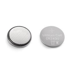 리튬 단추 세포 Cr2430 3V 285mAh 일차 전지