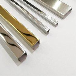 Декоративная металлическая нержавеющая сталь накладки кузова T профиль, C канала U канала L под углом