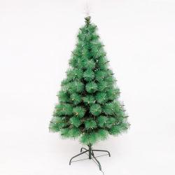 90cm Multilcolorの光ファイバ木によってつけられる装飾的な小型クリスマスツリー