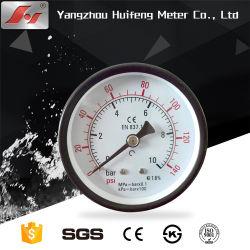 Manómetro de pressão de ar para Cortadores de plasma, medidor do Compressor de Ar