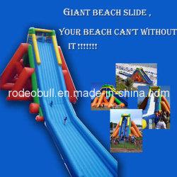 水公園の浜のための巨大なHipo膨脹可能な水スライド