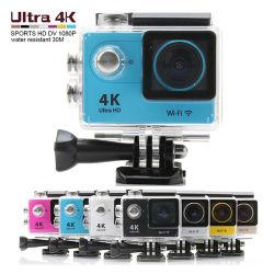 공장 가격 이 캠은 2 인치 170 도 렌즈를 가진 소형 WiFi H9 활동 사진기 4K 가득 차있는 HD 1080P 소형 비데오 카메라 30m D를 방수 처리한다