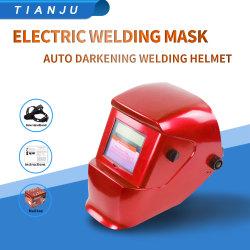 China experto oferta Casco de Oscurecimiento automático del sensor más grande de la máscara de soldadura automática de soldadura Electrónica casco