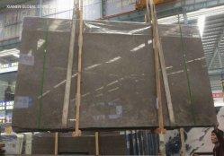 أسعار الجملة الجيدة شقوق / قطع من الحجر البني المصقول إلى الحجم بلاط رخام مايا الرمادي لتغطية جدار الأرضية