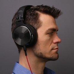 Oneodio über Ohr-Kopfhörer-Hifistudio DJ-Kopfhörer verdrahtetem Monitor-Musik-Spiel-Kopfhörer-Kopfhörer für Telefon-Computer PC mit Mic