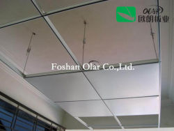 内部天井のための繊維強化カルシウムケイ酸塩のボード