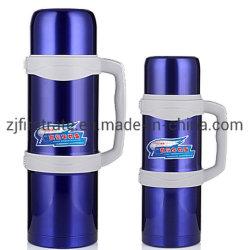 Aço inoxidável 1.5L 304 Sport Isolamento exterior da garrafa de água de vácuo do potenciômetro de viagem de carro
