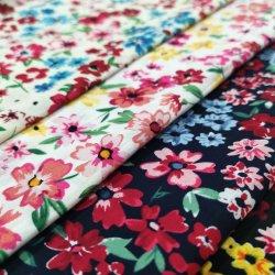 Moda textil tejida de algodón 100 impresos tela Poplin normal para el Hogar Productos textiles y prendas de vestir y muebles de Tela Tela