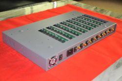 8 GSM van Havens Fxs en van 64 Kaarten SIM bevestigde Draadloze EindGateway FWT/GSM met Imei Wisselaar, Omwenteling SIM