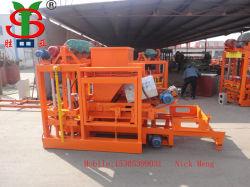 Hueco de hormigón Block-Forming Máquina/máquina de fabricación de ladrillos sólidos en Nigeria