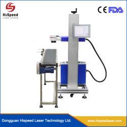 Maandelijkse aanbiedingen Online Fly Laser Marking machine Laser Coding machine Laserprinter met transportband voor PVC PPR HDPE-buis Productie