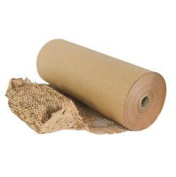 Material de embalaje de protección troqueladas de papel Kraft de panal.