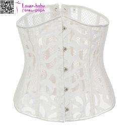 Retour à lacets corset lingerie sexy Bustiers résille XXL L42713-2