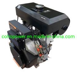 Мало вибрации 30HP V-Twin Air-Cooled дизельных двигателей
