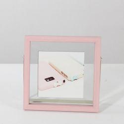 Plástico PS Photo Frame com suporte de metal para Home Deco