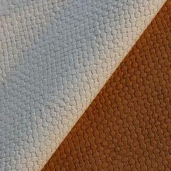 Поддержке имитация хлопка из ПВХ зерна верх из синтетической кожи