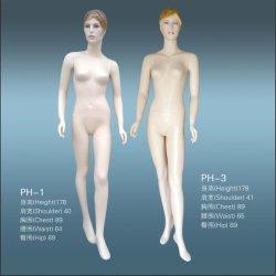 Expositor de cuerpo completo maniquí para mujer