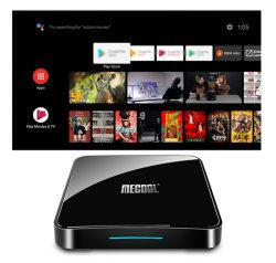 Новейшие км3 IPTV в салоне Ultra HD Android 10.0 Google Certified S905X2 Media Player 2.4/5g WiFi 4 ГБ оперативной памяти Bt4.0 голос пульт дистанционного управления Smart Телеприставки 9.0