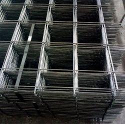 El hormigón de la barra de acero de refuerzo de malla de alambre soldada de acero galvanizado