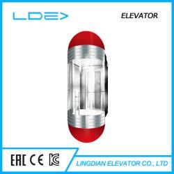 パノラマ式の乗客の上昇のホーム観察のガラス観光の観察のエレベーター