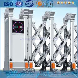 En acier inoxydable porte escamotable électrique/Porte coulissante de porte de pliage//électrique Porte télescopique (YJSS-06)