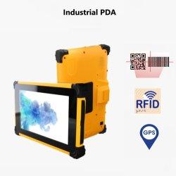 3.5/4/5/7 인치 터치 스크린 하나의 PDA에 모두 장착 전화 바코드 스캐너 RFID 판독기가 있는 Android 태블릿 UHF, HF, LF