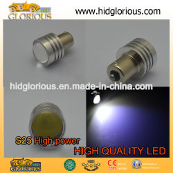 S25 LED haute puissance 1 W (Orange Jaune Rouge Vert Bleu Violet Blanc)