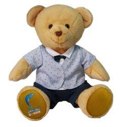 Giocattoli dell'orso della peluche con l'altoparlante di Bluetooth