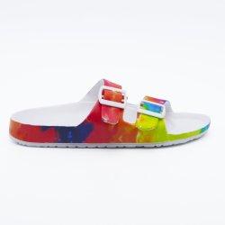 3D IMPRIMER Pantoufles Chaussures Chaussures EVA Plage de la mer Mesdames chaussures