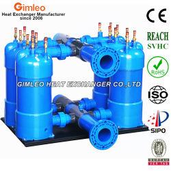 冷媒および水用のカスタムマルチ接続熱交換器コンデンサエバポレータ 冷却