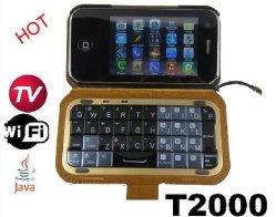 Java Dapeng TV WiFi телефон форма клавиатуры QWERTY (T2000)