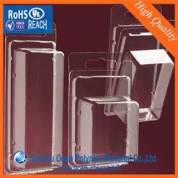 ورقة صلبة شفافة من مادة PVC لتفريغ الدرج البلاستيكي