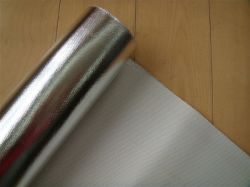 Filet de fibre de verre avec isolation thermique en aluminium
