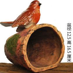 Decorazioni esterne del giardino di arte dell'iarda di Hugger dell'albero esterno dei fiori della decorazione del fronte dell'albero dell'alimentatore dell'uccello