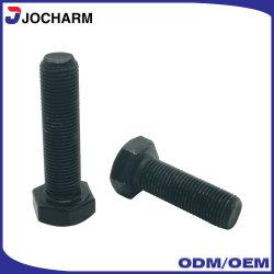 La norme ASTM A325M A490M Grade 4,8 5,8 6,8 8,8 10,9 Thread oxydé noir en acier au carbone vis/boulon et écrou/vis de la machine /Boulons hexagonaux/ vis à tête hexagonale/boulon avec écrou hexagonal
