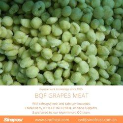 Il nuovo raccolto, uva di IQF, uva congelata, intera uva di IQF, polpa dell'uva di IQF, polpa dell'uva di Bqf, carne dell'uva di Bqf, uva congelata, sbucciato, senza semi, IQF/Bqf, ISO/HACCP/Brc