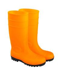 노란색 안전 네오프렌 비 부트 PPE 안전 산업 감화