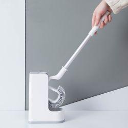 TPR 솔 홀더를 가진 알루미늄 손잡이 청소 화장실 청결한 솔