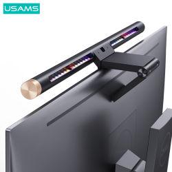Usams ZB224 Equipo de la barra de la pantalla del portátil de luz colgantes Lámpara de mesa para la lectura de la luz del monitor LCD/juegos