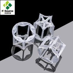 50мм ПВХ PP ПВДФ Случайные упаковки для химической башни пластиковые упаковки Пентагон кольцо