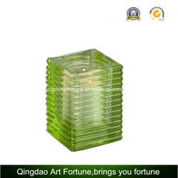 Turbinio Glass Cube Votive Holder per Candle e Holiday Decor