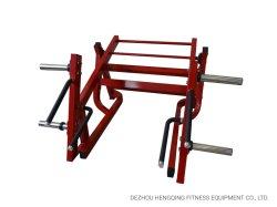 고급 피트니스 체육관 장비 바디 빌딩 근력 플레이트 적재 지반 베이스 스쿼트 런지