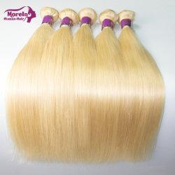 Haar van rechtstreeks 613 Bundels van de Blonde van de Prijs van de fabriek het Zijdeachtige Menselijke Braziliaanse Maagdelijke