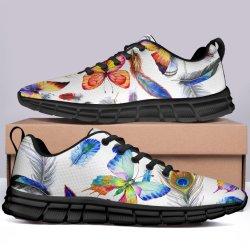 女性動物のための最初ダンスの靴は高い上女性のための女性のかわいい猫の靴女性のための注文の靴のための卸し売り印刷物の靴を印刷する