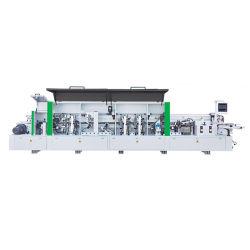 Alta velocidade de PVC MDF Premilling Madeira arredondamento de cantos Full automatic Orladora Máquina Mobiliário para armário de porta