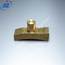Précision en laiton personnalisée Plumb pièces usinées en laiton usiné CNC