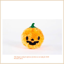 Fluffy calabaza de Halloween Lujosos Regalos Regalos de vacaciones