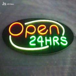متجر يعلن نيون يضاء [لد] إشارة مفتوحة